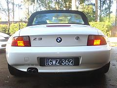 BMW Z3 - Custom Brackets with Prestige Covers