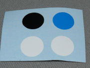 Sticky Dots - Choice of colours - Pack of 4