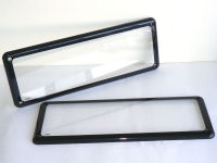 Standard size (372mm x 134mm) Kingpin number plate cover.
