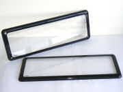 Prestige Number Plate Cover (Sold as single units) Clear Lens [Kingpin Prestige - Clear]